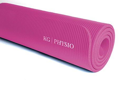 KG-Physio-Esterilla-de-yoga-extra-grueso-12-mm-con-correa-de-hombro miniatura 3