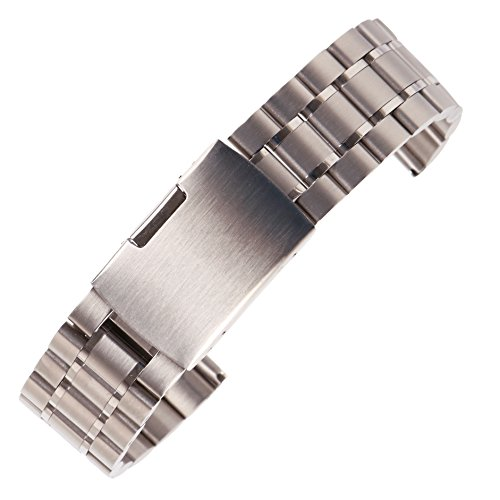 tahl Uhrenarmband Silber 19mm ()