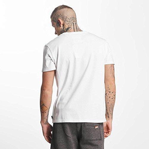 Superdry Uomo Maglieria/T-Shirt Vintage Logo Hyper Fade Bianco