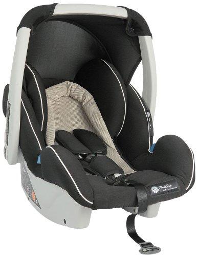 MediSafe 930052 Babyschale Cocomoon, Gruppe 0, 0-13 kg, creme-schwarz