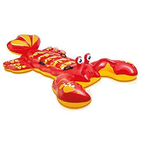Hilera de Animales inflables,Swim Party Toys,Fun Beach Floaties,Summer Pool Raft Tumbona para...