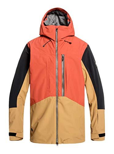 Quiksilver Travis Rice Stretch - Snow Jacket - Schneejacke - Männer - S - Rot