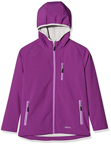 Eono Essentials giacca soft shell con cappuccio inamovibile per bambiniGiacca invernale