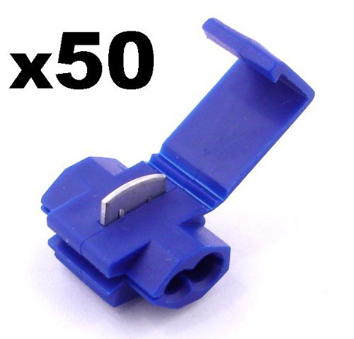 scotch-lock-snap-lock-splice-connectors-electrical-x-50-blue-free-first-class-uk-postage