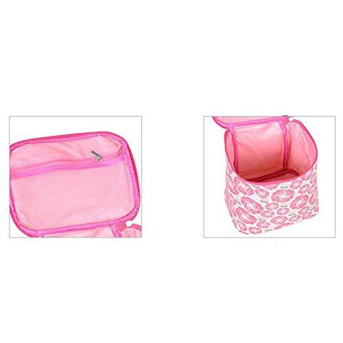 Donne Leggero Maniglia Superiore Il Sacchetto Cosmetico Grande Capienza Impermeabile Sacchetto Della Lavata A