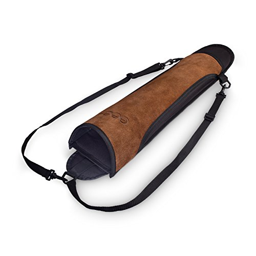 est-Hunter Pfeil-Köcher für den Rücken, echtes Leder (braun) (Körpers Des Köcher)