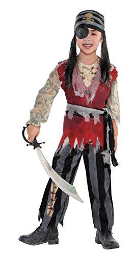 amscan-Costume-Ragazzo-Pirata Truschino di Gola,