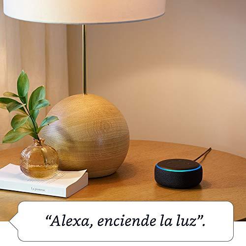 41xA2Wdg3oL - Echo Dot (3.ª generación) - Altavoz inteligente con Alexa, tela de color antracita