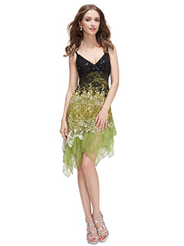 Ever Pretty Damen Ballkleid 46 Gruen EP00045GR14