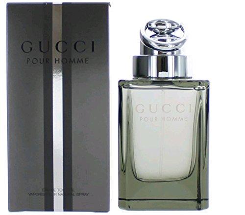 Gucci pour homme / men, Eau de Toilette, Vaporisateur / Spray 30 ml, 1er Pack (1 x 30 ml) -