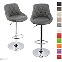 Typ 439S Duhome Elegant Lifestyle Esszimmerstuhl Clubsessel Cappuccino Kunstleder h/öhenverstellbar Lounge Sessel Drehbar