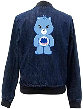 Angry Bear Bomber Chaqueta Girls Jeans Certified Freak