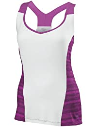 Wilson t-shirt de sport pour femme w long sleeve cardiff wavy print