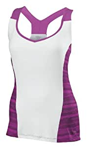 Wilson t-shirt de sport pour femme w long sleeve cardiff wavy print Femme : 40 Blanc - Blanc