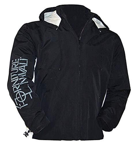 sports shoes 1e343 87e86 Murphy & Nye, giacca outdoor da uomo, impermeabile da uomo, giacca da vela,  colore nero nero S/M