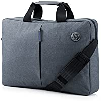 """HP Essential Top Load 15.6"""" - Funda bandolera para portátil de hasta 39,6 cm, color gris"""