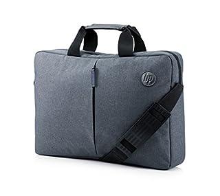 "HP Essential Top Load 15.6"" - Funda bandolera para portátil de hasta 39,6 cm, color gris (B00MGRAC30) | Amazon Products"