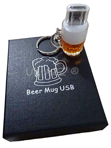 Uk a2z ® cartoon boccale di birra usb flash drive 64gb (confezione regalo)