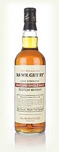 Highland Single Malt - As We Get It 66.1% Single Malt Whisky by Ian MacLeod