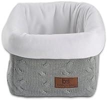Baby's Only Corbeille de rangement Tricot Uni gris - Gris