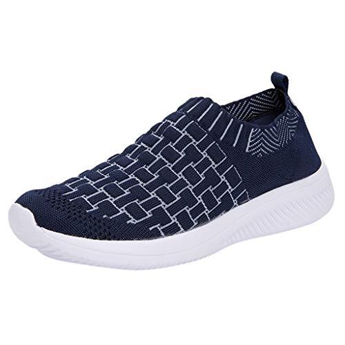 ➤Refill➤Winterschuhe Damen Schuhe Leichte Fitness Sportlich Lässig Turnschuhe Slip On Sneakers Walkingschuhe Outdoor Gym Bequem Turnschuhe Freizeitschuhe