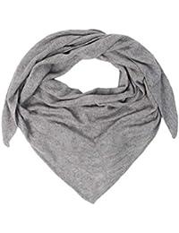 2d5900c73ecfda Zwillingsherz Dreieckstuch - Hochwertiger Schal im Uni Design für Damen  Jungen und Mädchen – XXL Hals-Tuch und Damenschal - Strick-Waren…