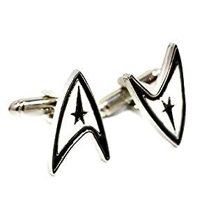 Beaux Bijoux Manschettenknöpfe Star Trek–Star Trek Insignia Manschette Links–Shirt Zubehör für Herren