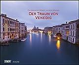 Der Traum von Venedig 2020 - Wandkalender 58,4 x 48,5 cm - Spiralbindung