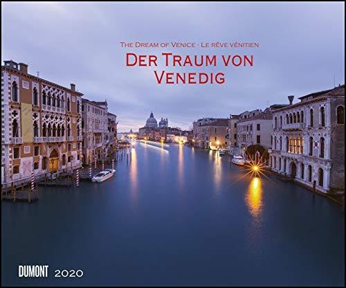 Der Traum von Venedig 2020 – Wandkalender 58,4 x 48,5 cm – Spiralbindung