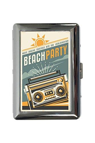 Zigarettenetui Box Star Beach-party Bedruckt