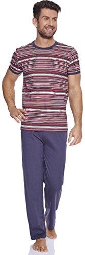 Italian Fashion IF Herren Pyjama Valdi 0230 Graphite