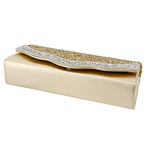 90S , Damen Clutch Gold