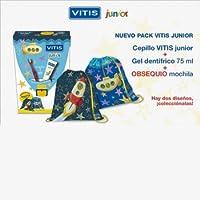 VITIS JUNIOR (KIT GEL DENTÍFRICO 75ML + CEPILLO + MOCHILA REGALO)