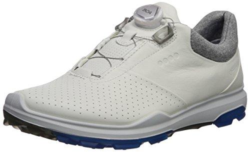 ECCO 155814, Scarpe da Golf Uomo Bianco Bianco 59020 43 EU