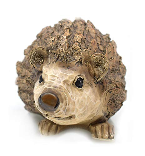 Juliana Hedgehog - Decorative Garden Figure (11 cm), design by Hedgehog