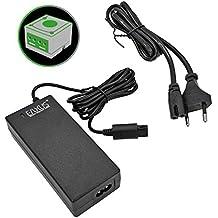 Eaxus Nintendo GameCube NGC GCN Netzteil/Stromkabel. AC Adapter/Ladekabel zur Stromversorgung Ihrer Konsole. 2,40 Meter Kabellänge