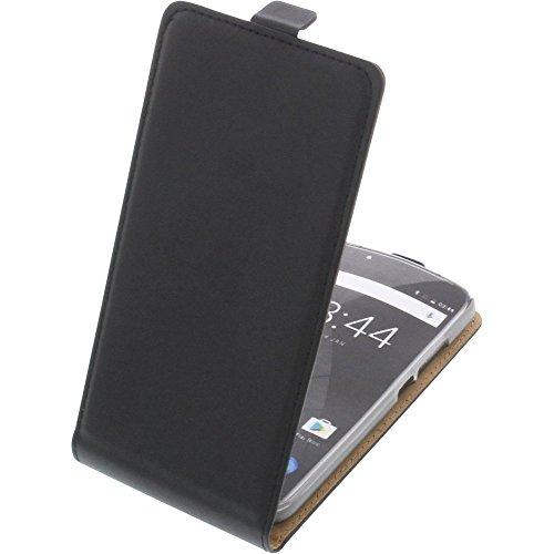 foto-kontor Tasche für Oukitel U22 Flipstyle Schutz Hülle Handytasche schwarz