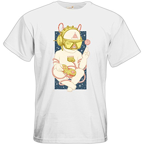 getshirts - Rocket Beans TV Official Merchandising - T-Shirt - Zukunftskind  White