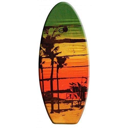 Preisvergleich Produktbild Bodyboard / Wellenreiter / Surfbrett Caribic Sun 100 cm