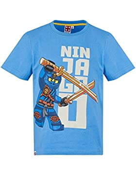 Lego Ninjago Chicos Camiseta Manga Corta - Azul