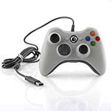 Althemax® Wired USB Game Pad Joysticks Controller For Microsoft xBox 360 White [Importación Inglesa]