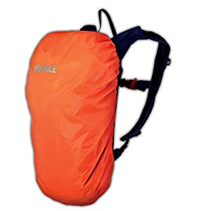 41xAGZVbulL. SS300  - Source Rain Cover for Pack Drinking Accessories, Orange, One Size