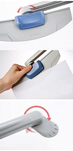 Monitor montado portadocumentos 360° Revolving Clip de papel madrastra 72119