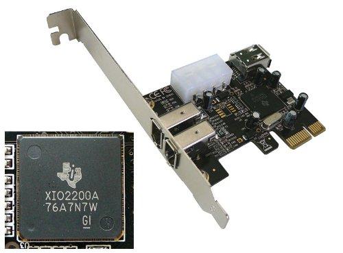 kalea-informatique-placa-para-controlador-pci-express-a-firewire-400-ieee1394a-2-1-puertos-6-pines-y
