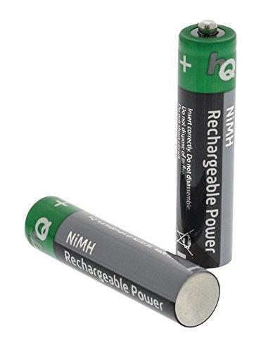 Eurosell 4 Stück NiMH 1,2V HR03 Wiederaufladbare Batterie Ersatzakku Akku AAA - wiederaufladbar 700mah