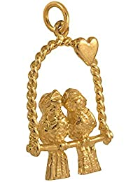 Sayers London 9ct Gold Hollow Cat Charm