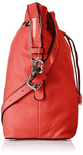 Bulaggi - Clarice Bucket, Borse a Tracolla Donna Red (Red)