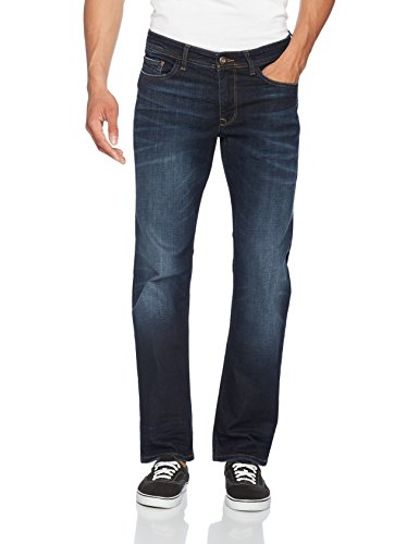 Cross Jeans Herren Loose Fit Jeans Antonio, Blau (Deep Blue 089), W38/L32 (Denim Loose Fit Jeans)