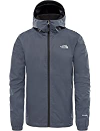 The North Face, Quest, Giacca a Vento Softshell, Uomo, Grigio (Vanadis Grey Black Heather), M