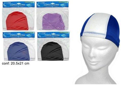 Gicaprice cuffie colorate elastiche in poliestere ideali per sport acquatici, piscina (24)